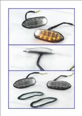 LED indicators fairing Suzuki GSXR 600, GSXR750, GSXR1000,  clear 11C
